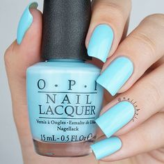 This color though Swatches of the whole OPI Breakfast at Tiffany's collection on my blog (link in bio)