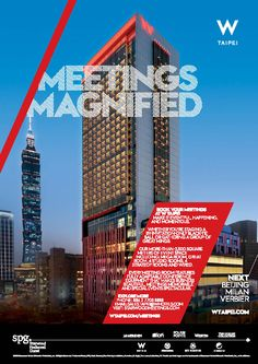 w hotels graphic design Hotel Brochure, Hotel Ads, W Hotel, Club Design, Ad Design, Cover Design, Graphic Design, Real Estate Ads, Real Estate Branding