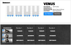 Freeletics Workout Venus