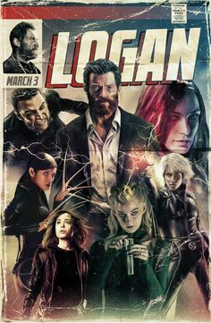 "The Poster Pays Homage To Wolverine & 20th Century Fox's ""Logan"" – Poster Posse"