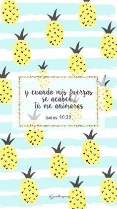 Wallpaper- Isaías 40:29 #citasbiblicas