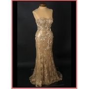 vintage wedding evening gown