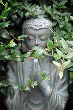 BUDDHA IN THE GARDEN. If there is any religion that could respond to the needs of modern science, it would be Buddhism Lotus Buddha, Art Buddha, Buddha Decor, Buddha Zen, Buddha Buddhism, Buddhist Art, Buddha Statues, Buddhism Religion, Greek Statues