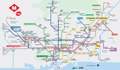 If buses are not your style, the Barcelona Metro is super easy!