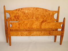 curly maple bed - Google Search