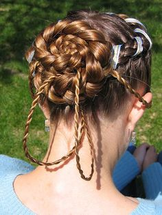 Traditional Dutch Hairstyle 2