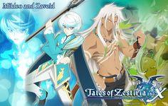 Wallpaper Mikleo and Zaveid :: Tales of Zestiria by LegendQueen01