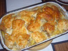Chrumkavé kura na smotane
