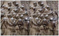 In the beginning of the century, the Roman Emperor Trajan led two very successful war campaigns against the powerful Dacia kingdom by the river Danube in what is now Romania. The Dacians were a… Roman Sculpture, Sculpture Painting, Modern Sculpture, Lion Sculpture, Trajan's Column, Roman Columns, Roman Emperor, Roman Art, Ancient Rome