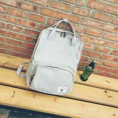 e569d1bb219 Школьная сумка wemen холст корейский стиль Harajuku ulzzang школьник  элегантный дизайн простой рюкзак модные популярные рюкзак купить на  AliExpress