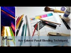 Colored Pencils for Adults - 72 Vivid Watercolor Pencils & Case Set, Artist Grade Soft Cores, Color Dry or Wet, Ideal for Art & Coloring Books. Premium accessories & Free Mandalas eBook Inc Coloring Tips, Colouring Pages, Coloring Books, Adult Coloring, Blending Colored Pencils, Types Of Pencils, Colored Pencil Tutorial, Colored Pencil Techniques, Zentangle