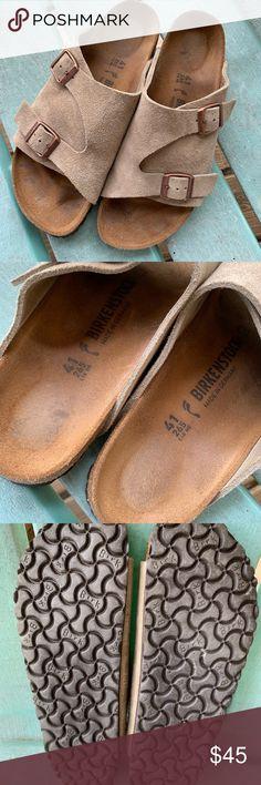 a49210f448d5 Suede Birkenstock Sandals 41 Narrow Authentic Birkenstock sandals in  excellent condition. Size 41 Narrow