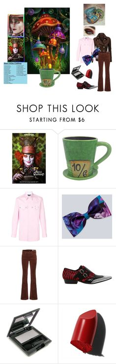 """Mad Hatter"" by dragonfaery ❤ liked on Polyvore featuring Disney, J.TOMSON, Calvin Klein 205W39NYC, rag & bone, Haider Ackermann, Bobbi Brown Cosmetics and 30daydisneychallenge"