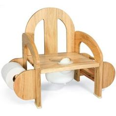 Merveilleux Wooden Potty Chair