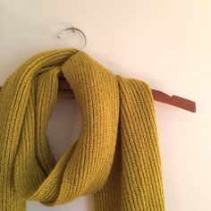 Precious Pea Green Scarf Worn a few times--love this color! Perfect for this weather! Accessories Scarves & Wraps