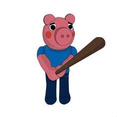 Cute Kawaii Drawings, Cool Drawings, Fairy Tail, George Pig, Crash Bandicoot, Paper Toys, Peppa Pig, Elmo, T Rex