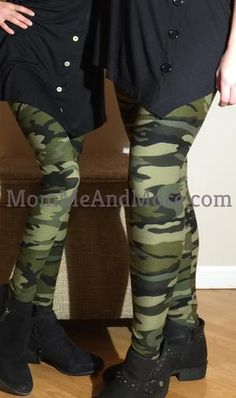 8429cdf8cdedd Mommy and Me Leggings Camouflage Lularoe Army Camo Green: OS/PLUS  Camouflage Leggings,. MomMe and More