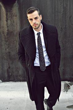Coat, suit, tie ...