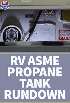 On a motor home, the ASME tank or, in layman's terms, the RV propane tank, is responsible for fueling a number of your vehicle's most important appliances, including the oven, stovetop burners, water heater and refrigerator. Because propane gas is required to power so many of the components you use on a daily basis when you're touring the country, it's important to know at least a little bit about the makeup of and proper maintenance procedures required for an RV propane tank.