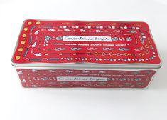 Boîte à bazar rouge - Valérie Nylin pour DLP