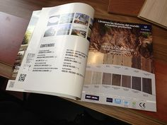Diseño publicación aviso tableros revista D+A