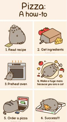 Yes in actuality I am a cat & this is how I cook. ^^
