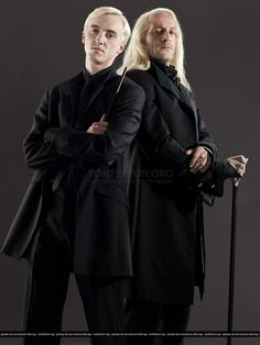 Draco & Lucius Malfoy