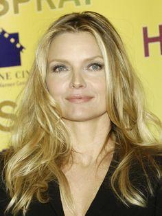 Michelle Pfeiffer's gorgeous hair