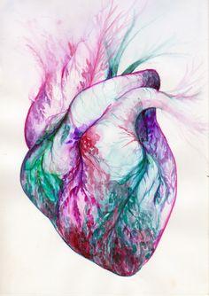 ": ""Really Artistic ➡ Art & Anatomy, Human Heart Anatomy . Anatomy Drawing, Anatomy Art, Heart Anatomy, Drawing Heart, Biology Art, Human Figure Drawing, Heart Illustration, Medical Art, Anatomical Heart"