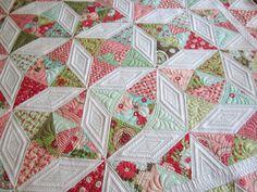 kalidescope quilt   Kaleidoscope quilt done