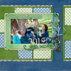 Emerald Inspiration #2 - the Shabby Shoppe Scrapbooking Gallery
