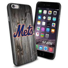 New York Mets MLB Blackwood Logo WADE5661 Baseball iPhone 6 4.7 inch Case Protection Black Rubber Cover Protector WADE CASE http://www.amazon.com/dp/B013VP7292/ref=cm_sw_r_pi_dp_sl0owb18G0KYC