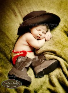 Cowboy  Newborn Photographer in Lake Norman & Charlotte North Carolina. Fun, Relaxed, Stress Free Portrait Sessions.