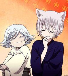 Tomoe and Mizuki   AAAAAH MIZUKI IS TOO ADORABLE IN THIS