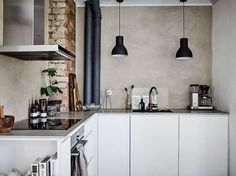 Minimalistic Scandinavian kitchen