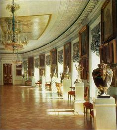 Picture Gallery - Pavlovsk Palace & Park - Country Residence of the Russian Imperial Family