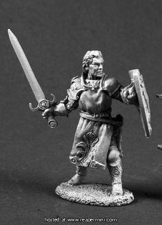 Reaper - Dark Heaven Legends -03556: Ashlan Fellthrush, Heroic Paladin - Sandra Garrity
