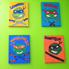 Teenage Mutant Ninja Turtles Wall Art TMNT