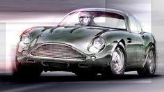 Hell yes.. Aston Martin DB4 GT Zagato (sketch by Norihiko Harada)