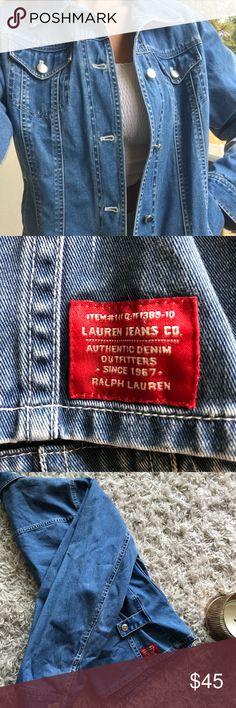 821b0ccab158f9 Ralph Lauren Denim Jacket Cute Ralph Lauren Denim Jacket. Side snap details  for a more