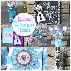 Frozen Craft Ideas from http://yesterdayontuesday.com