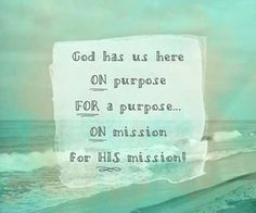God loves you more than you know and has an amazing amazing purpose for your life! Give your life to him and follow him! There's no one greater!!