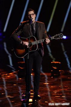 """James Wolpert The Voice Top 5 """"With Or Without You"""" Video 12/9/13 #TheVoice #JamesWolpert"""