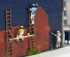 Painters ~ HO Scale