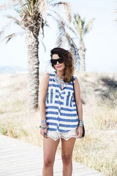 Why White Laced Shorts Will be Your New Go-To Summer Basic  22 Jul, 14by SARA ESCUDERO