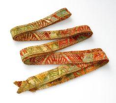 Southwest Santa Fe Style Hand Dyed Artisan Cotton by urbanraku