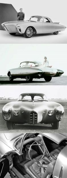 Oldsmobile Golden Rocket concept car by Harley Earl, 1956  - Travel In Style | #MichaelLouis www.MichaelLouis.com