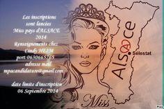 Mpa MissPays d'Alsace : Miss Pays 'ALSACE 2014
