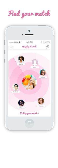 Dating Radar, IOS app