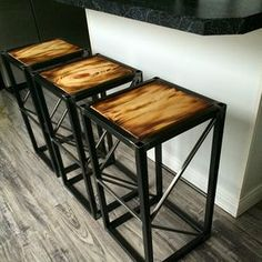 """""""Stage Truss"""" End Table/Stool/Pedestal by Joseph Cauvel"""